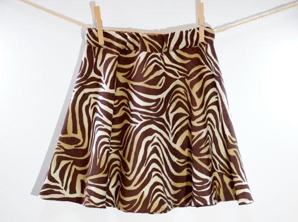Hardcore Skirt Zebra