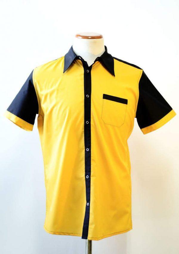 Camisa Phantom Dragster Amarilla