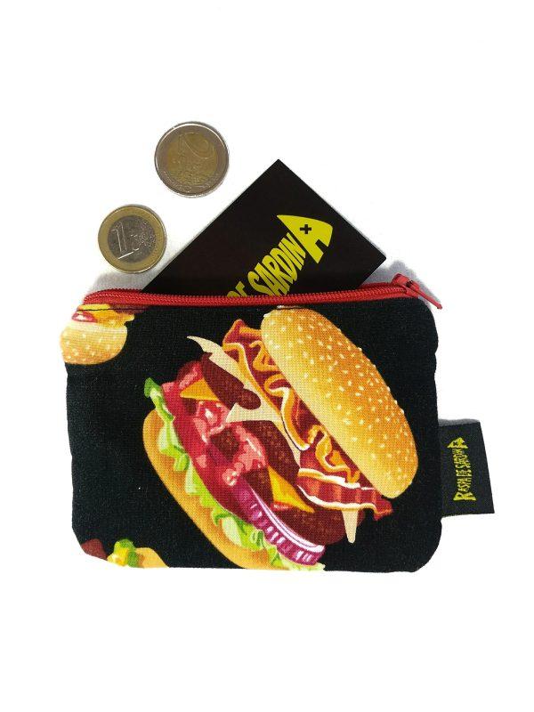 Monedero Burger