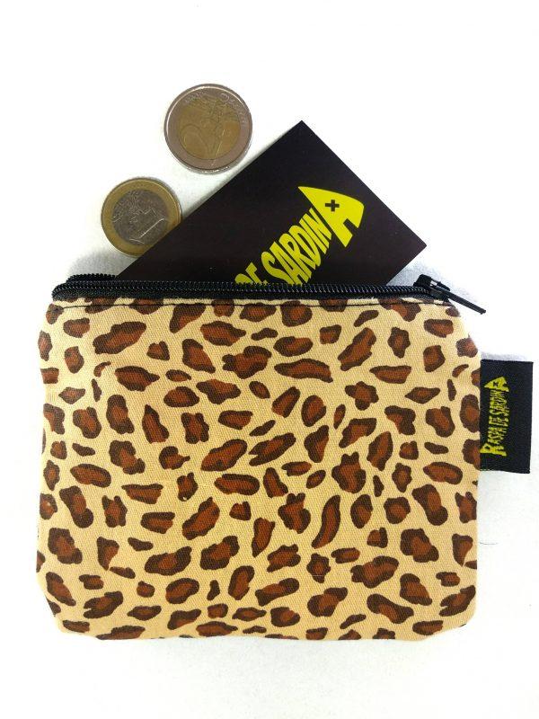 Monedero Leopardo