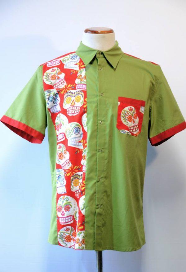 Camisa Skull Verde
