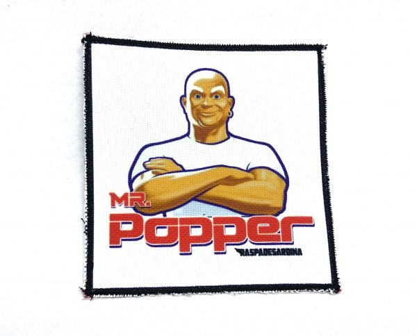 PARCHE MR POPPER