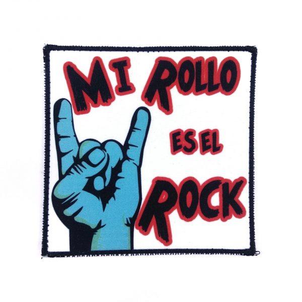 PARCHE MI ROLLO ES EL ROCK