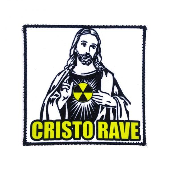 PARCHE CRISTO RAVE