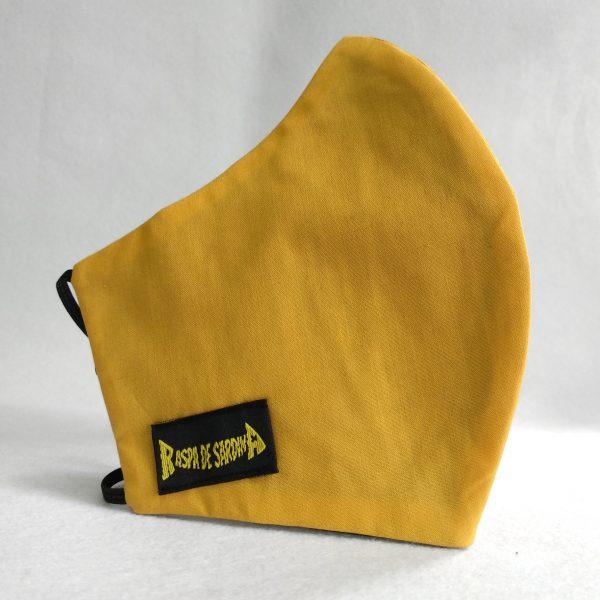 Cubrebocas Amarilla (Tallas M y L)