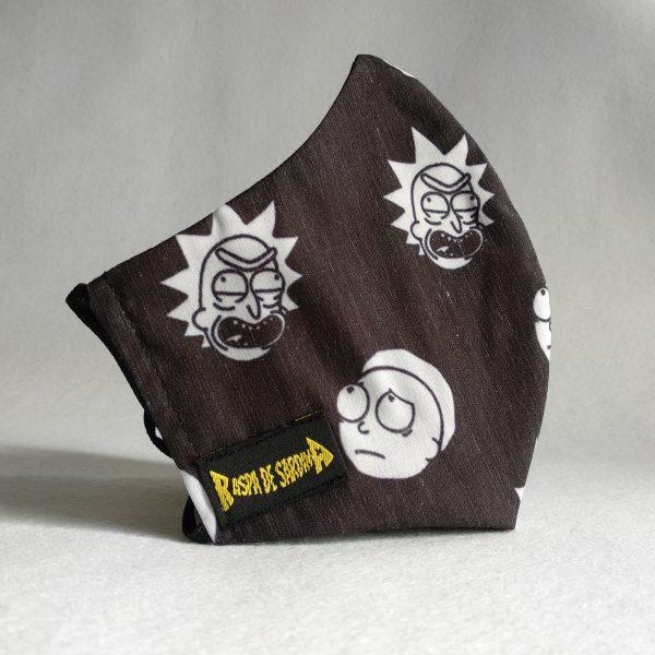 Cubrebocas Rick y Morty (Tallas M y L)