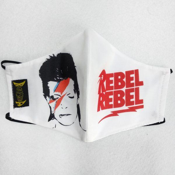 Cubrebocas Rebel Rebel (Tallas M y L)